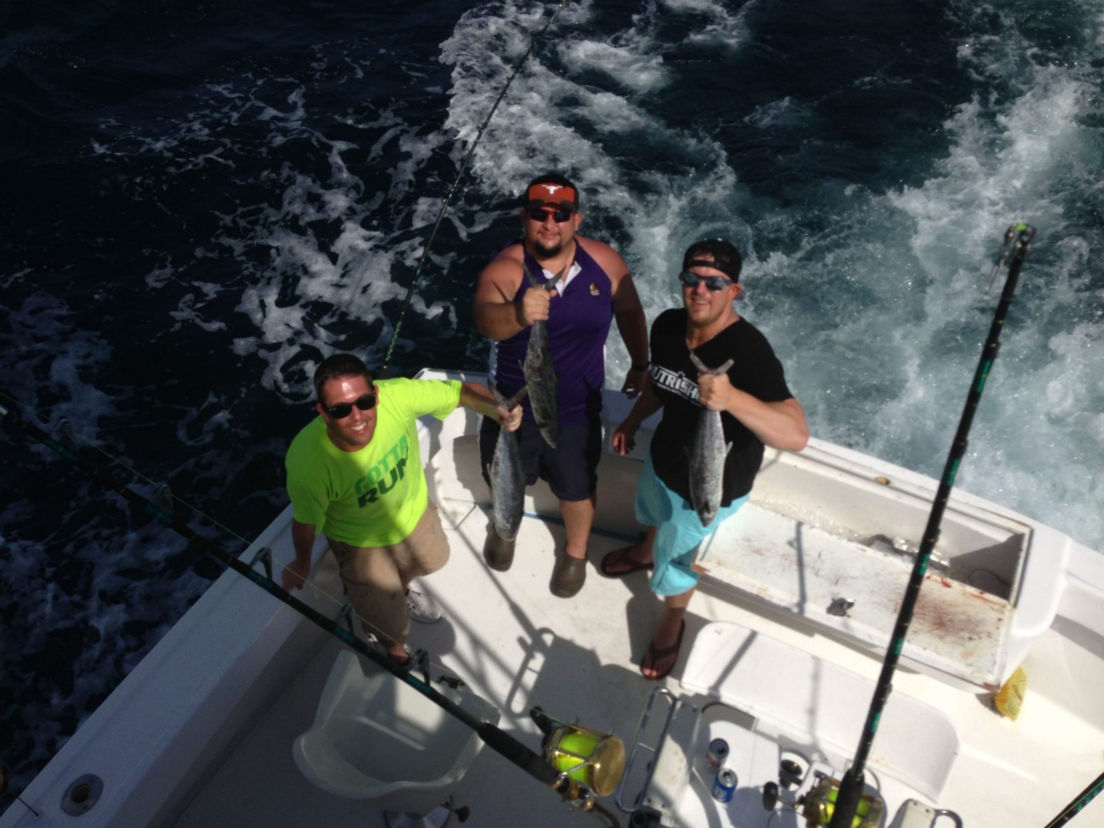 Fishing with the guys from Planet Fitness