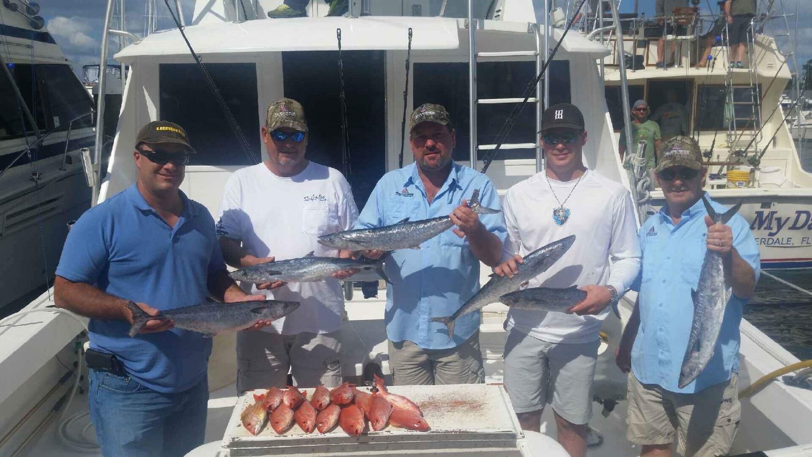 More King Fish and Snappers off the coast of Ft Lauderdale