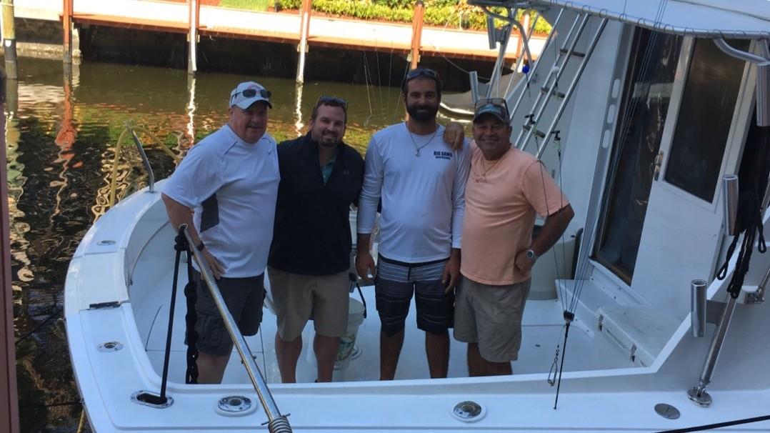 Sportfishing on the Hooked Up II 2/8/17