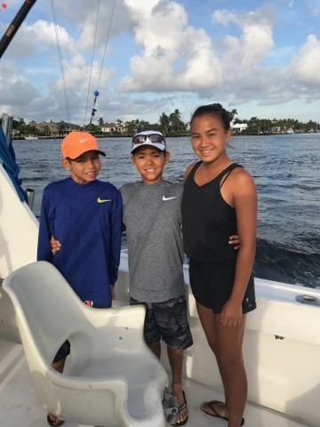 Fishing aboard the Hooked Up 7/1/17