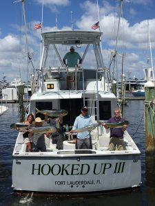 Group fishing Ft Lauderdale