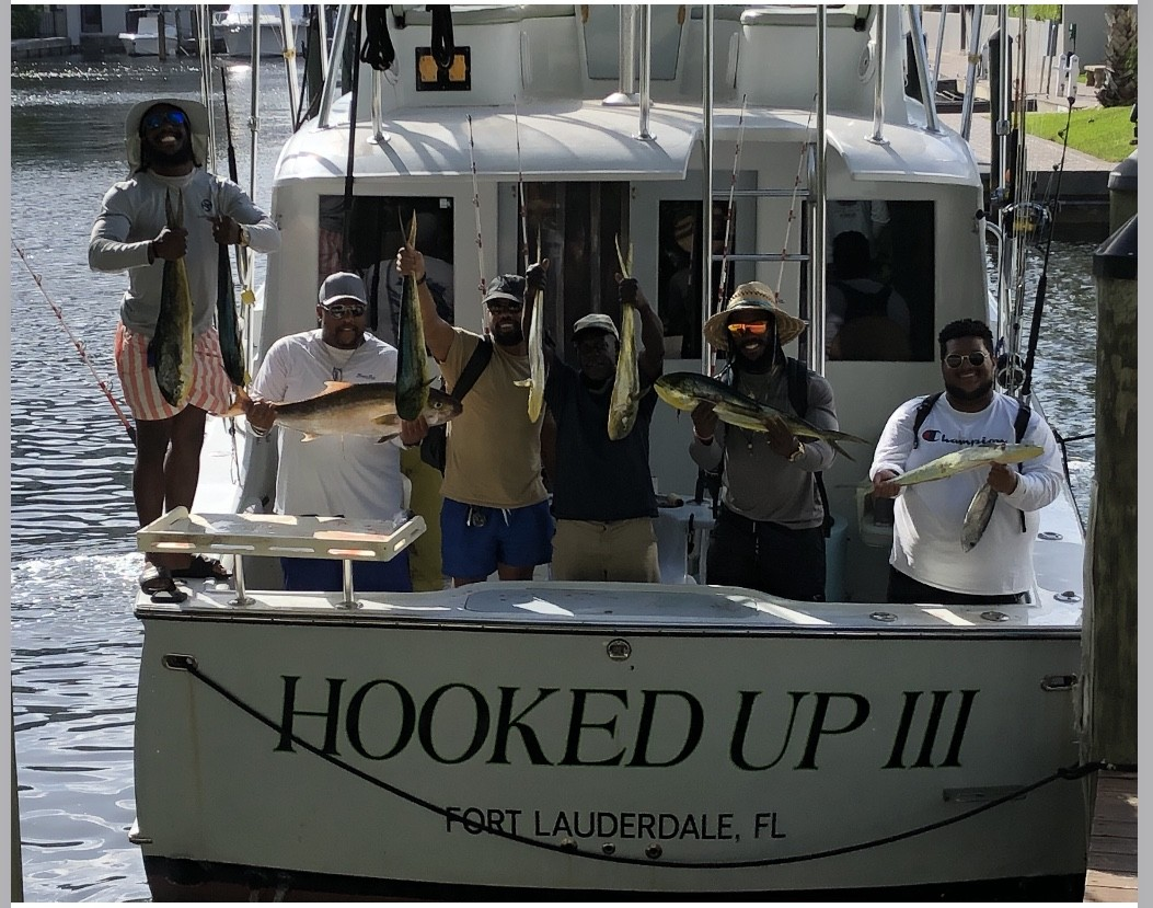 Fishing with the truck drivers off Ft Lauderdale