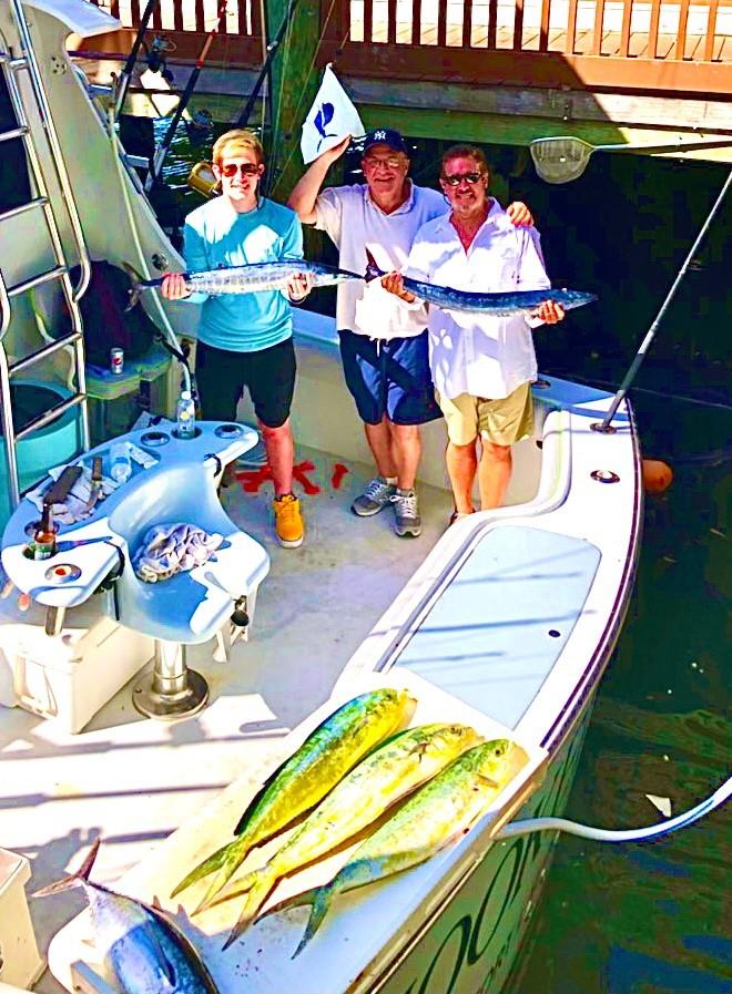 Fort Lauderdale fishing for Sails Mahi, Wahoo and Tunas